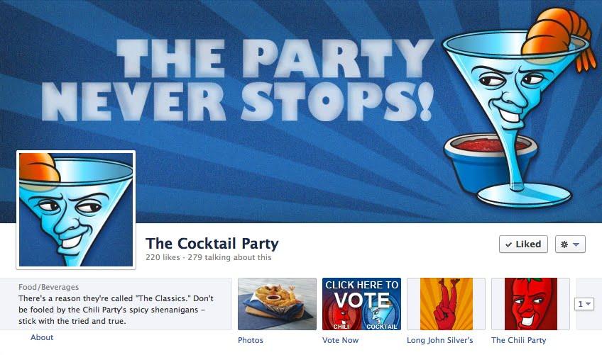 Facebook Digital Marketing Fast Food