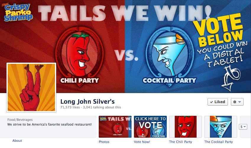 Facebook Sweepstakes Advertising Campaign